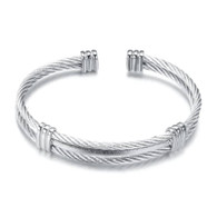 (LUXE SS) -WIRE CABLE (SILVER)