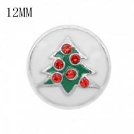 CHRISTMAS - MINI XMAS TREE (RED&WHITE)