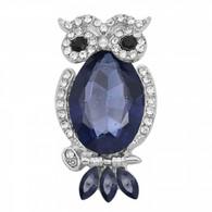 BLING OWL - PURPLE-BLUE