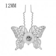 HAIRPIN - GLITZ BUTTERFLY  (PAIR)