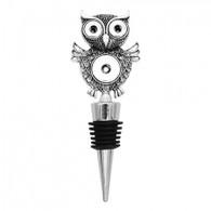 WINE STOPPER - SILVER OWL