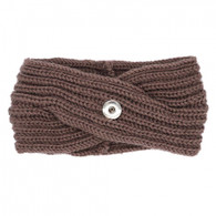 KNIT HEADBAND - BEIGE