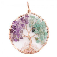 NATURAL STONE - EMOTIONAL BALANCE TREE OF LIFE (RG)