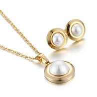 LUXE PEARL SET (SS 316L - GOLD)