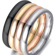 LUXE STACKABLES RING (316L) S7