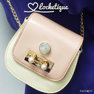 LE PETIT CHAIN ROSSBODY BAG - AURORA