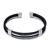 (LUXE SS) -WIRE CABLE (BLACK)