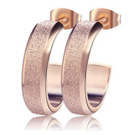 LUXE SPARKLING EARRINGS (316L) - ROSEGOLD