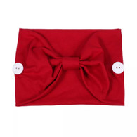 MASK HAIR BAND - RED
