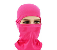 HEADGEAR BREATHABLE - HOT PINK