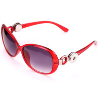 SUNGLASSES - GLAM RED