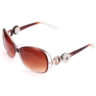 SUNGLASSES - GLAM OMBRE CHOCOLATE