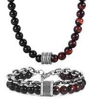 LUXE SS STONES SET - RED EYE TIGER (9)
