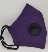 BREATHING VALVE MASK- VIOLET