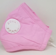 BREATHING VALVE MASK- PINK