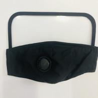 HIGH PROTECTION SHIELD VALVE MASK- BLACK