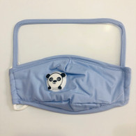 HIGH PROTECTION SHIELD PANDA MASK- CHILDREN(BLUE)