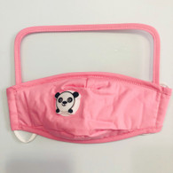 HIGH PROTECTION SHIELD PANDA MASK- CHILDREN(PINK)