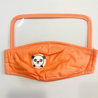 HIGH PROTECTION SHIELD PANDA MASK- CHILDREN(ORANGE)
