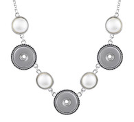 NECKLACE V- ORIENTAL PEARLS