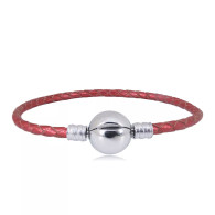 CB SBRACELET LEATHER (RED)