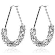 LUXE FLARE EARRINGS (316L) - SILVER