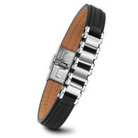 LUXE SS- LEATHER BANDS BRACELET (MEN)