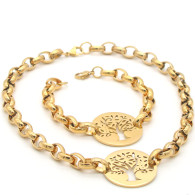 SET LUXE SS TREE OF LIFE (LUXURY - GOLD)