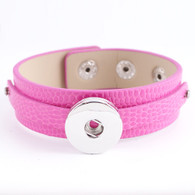 REMOVABLE BUTTON BRACELET  - ROSE