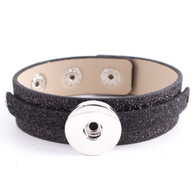 REMOVABLE BUTTON BRACELET GOLD POWDER - ONIX