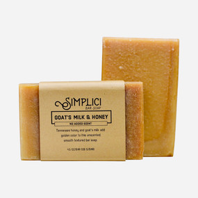 Simplici Goats Milk & Honey Bar Soap
