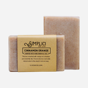 Simplici Cinnamon Orange Bar Soap