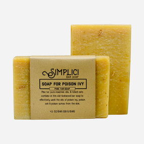 Simplici Pine Tar & Oatmeal Bar Soap