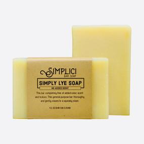 Simplici Simply Lye Bar Soap (Unscented)
