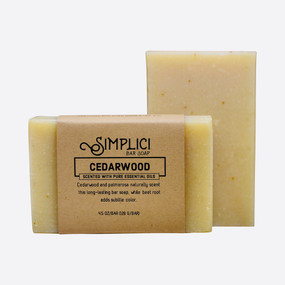 Simplici Cedarwood Bar Soap