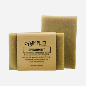 Simplici Spearmint Bar Soap {New}