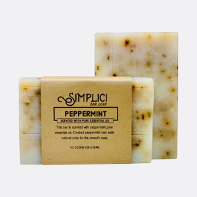 Simplici Peppermint Bar Soap
