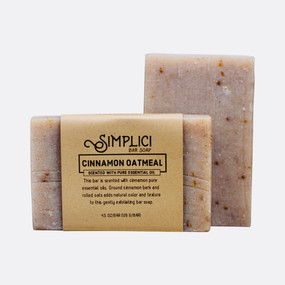 Simplici Cinnamon Oatmeal Bar Soap