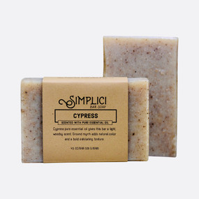 Simplici Cypress Bar Soap