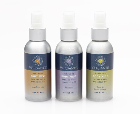 hydrating BODY MIST infused with essential oils