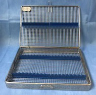 Sterilization Cassette wire Mesh Series - 20 Instruments - open