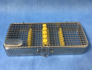 New Sterilization cassettes - Wire Mesh Series - 5 Instruments