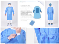 Surgical Gowns - sterile -fluid resistant- 45G