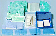 O-Pak sterile oral Surgery Drape Pack- Case of 12