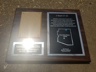 Personalized Engraved LDS Missionary Plaque, Wall Plaque, Corporate Award, Team Plaque, Employee Award, Recognition Plaque