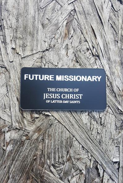 Future Missionary Name Tags