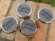 Personalized Engraved Leather Coaster Set w/Holder, Customized Coasters, Wedding Coasters, Anniversary Coasters, Housewarming Gift Coasters