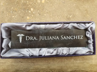 Personalized Engraved Black Marble Desk Name Plate Desk Wedge Office Decor Desk Sign