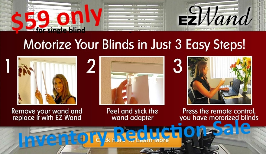 3 Easy Steps  Alt-Text   Smart Motorized Blinds Installation  E