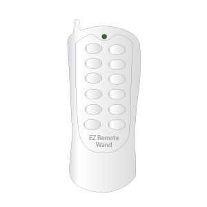 EzW-s031 EZ Wand Remote, One EzRemote to Control your EzWand Motorized Window Blinds